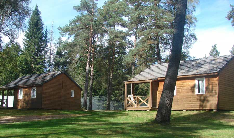 chalet camping correze