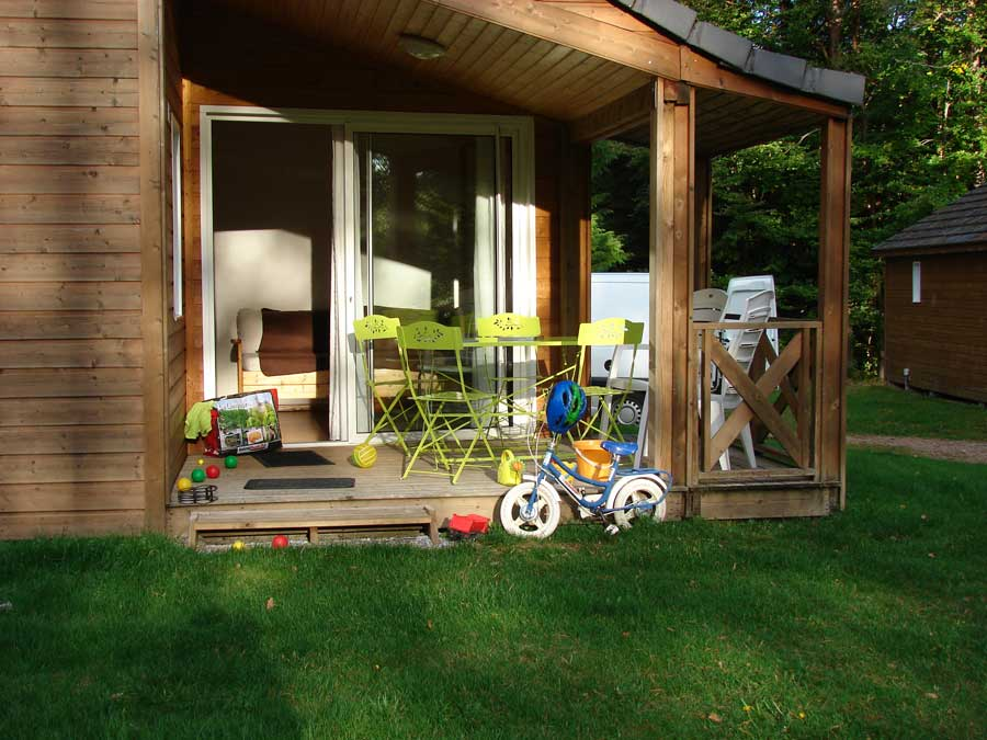location chalet camping correze