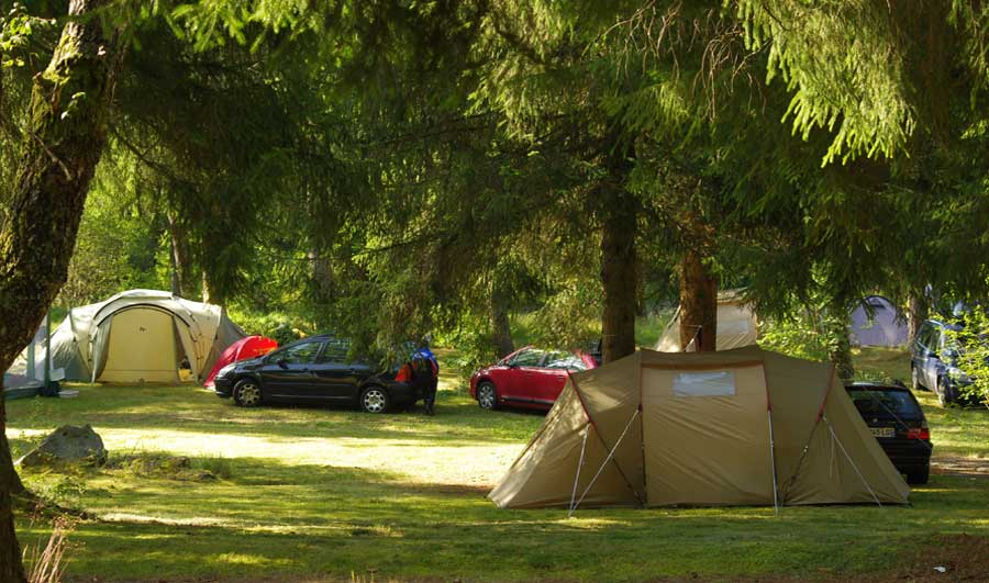 emplacement camping peche correze